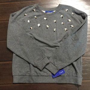 Apt 9 Pullover Sweatshirt sz L NWT
